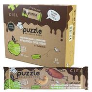 Протеиновый батончик PUZZLE «Фруктово-ореховый с какао»        12 батончиков х 30 г